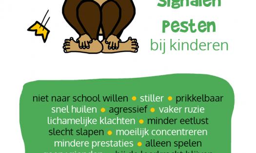 Infographic Checklist Signalen Pesten