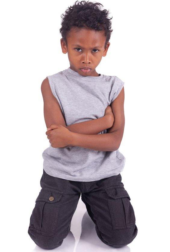kind vaak boos